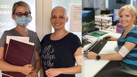 Blond moderátorka bojující s rakovinou oznámila konec! Co bude dál?