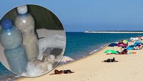 """Turista si přibalil z pláže dvě kila písku. Na letišti ho lapili a """"vysolil"""" 26 tisíc"""