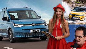 Sedněte si za volant se Světem motorů! V premiéře Volkswagen Caddy i další novinky