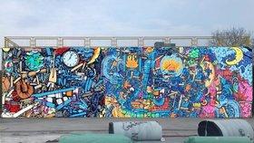 Zdi u metra Opatov v novém hávu: Ozdobí je malby, o podobě rozhodnou lidé v anketě