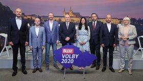Chaos i perné chvíle hostinských: Krajští kandidáti v debatě Blesku vyčinili vládě