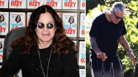 Poznáte ještě drsňáka Osbournea? Z Ozzyho je šedivý dědeček o holi!