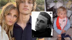 Tereza Maxová zveřejnila foto krásného syna Tobiase (20): Reakce kolegyň berou dech!