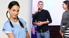 Seriálová hvězda Míša Tomešová si nevzala podprsenku: Gránský asi zíral!