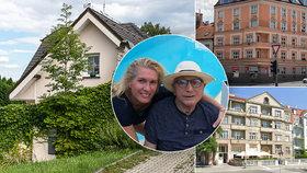 Vdova po Jiřím Menzelovi (†82) Olga: Dva byty, dům, ale je bez domova! Bydlí na staveništi
