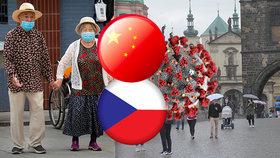 Nárůst v Česku děsí i kolébku koronaviru. Čína varuje turisty před cestami do Prahy