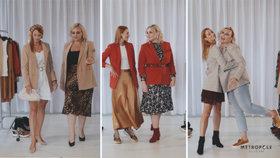 Souboj velikostí S vs. XL: Jak kombinovat sako tak, aby slušelo hubeným ženám i baculkám?