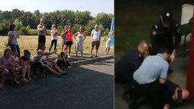 Řidiče ze zadrženého českého autobusu pustili na svobodu: Maďaři ho nechali bez mobilu na benzince