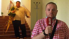Gynekolog Štěpán (43) vážil 197 kilo: Ve spánku se dusil, trpěl úzkostmi a přidal vzkaz