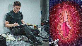 Vaginy nejsou ošklivé, tvrdí český umělec! Svými kresbami učí ženy mít se rády