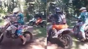 Bezohlední motorkáři ničili přírodu v národním parku: Strážci žádají o pomoc!
