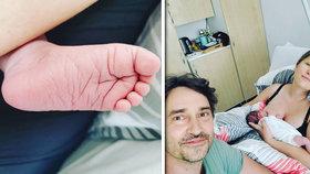 Obrovská radost herce Saši Rašilova (48): Je počtvrté tátou!
