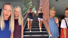 Máma (41) s dcerou (16) šokovaly sociální sítě: Vypadají jako dvojčata!