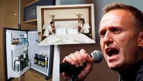 Navalného otrávili už v hotelu vodou v lahvi, tvrdí politikův tým. Přidal video jako důkaz
