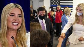 Ivanka Trump v roušce jako bílá labuť: Šaty za 28 tisíc taktikou na obměkčení voličů?