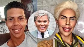 Jessica Alves čelí tvrdé konkurenci! Brazilec (17) bez jediné plastiky vypadá jako Ken!
