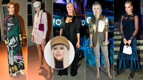 """Módní kritička Ina T. o módě z Fashion Weeku: Nevkus Kopíncové, stylová Krainová a """"válka barev"""" Jirešové"""