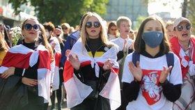 Lukašenkova rivalka: Putin je moudrý vůdce. Nejde o boj s Ruskem, ale s naším prezidentem