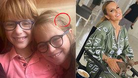 Simona Krainová opět ve válce s fanoušky! Detail na fotce synů vzbudil vášně