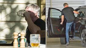 Babí léto Michala Dlouhého: »Vylupnul« dvě piva a sedl za volant!