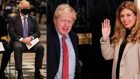 """Zkroušený a unavený: Experti na řeč těla odhalili, jak premiér bez snoubenky po boku """"trpí"""""""
