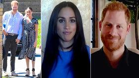 Meghan a Harry po útěku do USA: Velké změny! Účes a snad i plastiky?