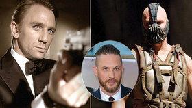 Bane z Temného rytíře novým Bondem?! Roli po Craigovi převezme Tom Hardy