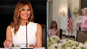 """""""Krásná, vznešená, vlídná."""" Trumpová okouzlila i manželku vlivného ministra"""
