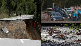 Absolutní zkáza: Po bleskových záplavách zůstali mrtví i obrovské škody