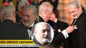 Daniel Hůlka ukončil přátelství se Zemanem: Zklamal jsi mě, Miloši! Vrátím ti metál