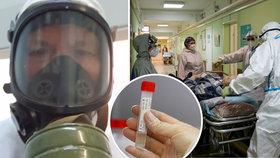Vědec se koronavirem nakazil na lyžích. Schválně se znovu infikoval kvůli studiu protilátek