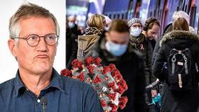 """""""Imunita proti koronaviru je záhadou,"""" přiznal švédský epidemiolog. Nebývá tak silná"""