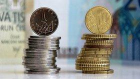 Stabilita koruny je přímo vázána na stabilitu eura