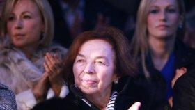 Někdejší první dáma Livie Klausová