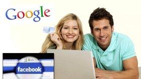 Google a Facebook: Podle průzkumu Europe for Creators mají lidé obavy
