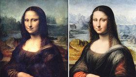 Ve Španělsku objevili přes 500 let starou kopii Mony Lisy. Poznáte, která to je a která je originálem?