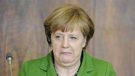 Angela Merkelová je celou aférou zhnusena