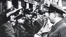 Tak soukmenovci zdravili Hitlera ve Šluknově