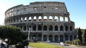 Koloseum patří v Římě k nejnavštěvovanějším památkám