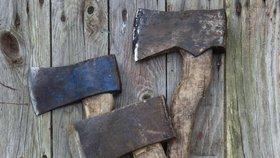 Mladík zavraždil tři své příbuzné sekerou. (ilustrační foto)