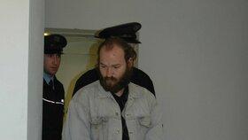 Vrah Semanský po zadržení letos v lednu