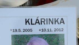 Vzpomínka na mladší z tragicky zesnulých sester Kláru
