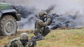 Výcvik ve vojenském prostoru Libavá