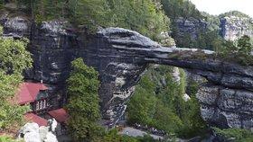 Pravčická brána v Národním parku České Švýcarsko