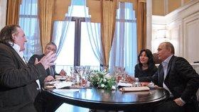 Depardieu s Putinem