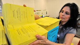 Tiskárna Moraviapress vytiskla volební lístky pro 2. kolo prezidentské volby.