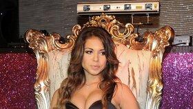 Jedna z hlavních aktérek aféry Rubygate: Tanečnice a striptérka Karima, se kterou měl mít Berlusconi sex v době, kdy jí ještě nebylo 18 let