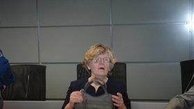 Bývalá učitelka Hana Nárožná čelila spolu se synem obvinění z vraždy bývalého manžela a jeho nové ženy. Letos v lednu zemřela.