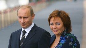 Putinovi mají dvě děti.