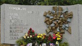 Památník obětem tragédie ve Studénce.